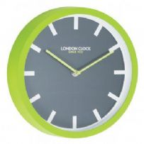 LIME POP WALL CLOCK